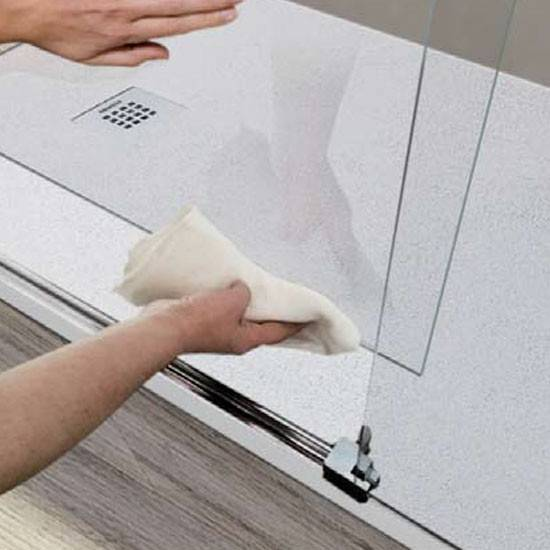 Limpiar mamparas de baño
