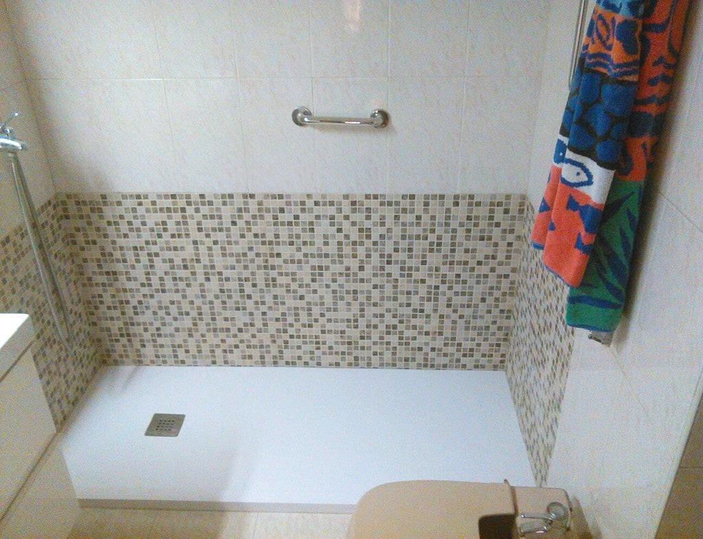 Cambiar bañera por plato de ducha Chamartín