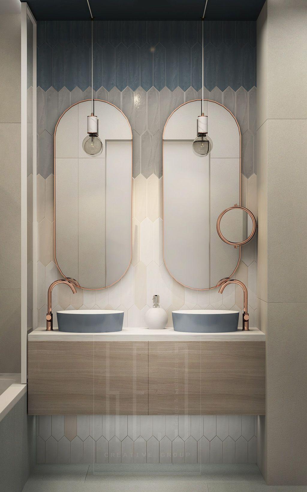 Diseño baño para matrimonio